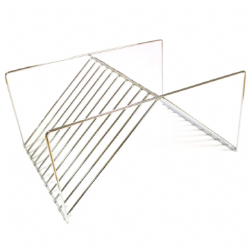 Ol Pro Chrome Wire Plate Rack Drainer